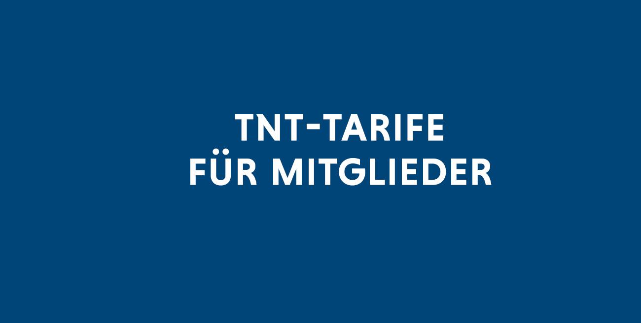 TNT-Tarife für Mitglieder