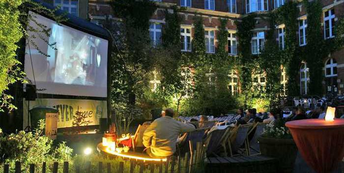 Berlin – Open Air Kino Spandau