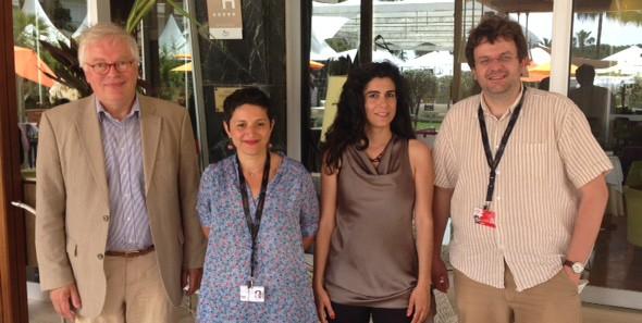 Jury und Mitgliederversammlung der CICAE in Cannes