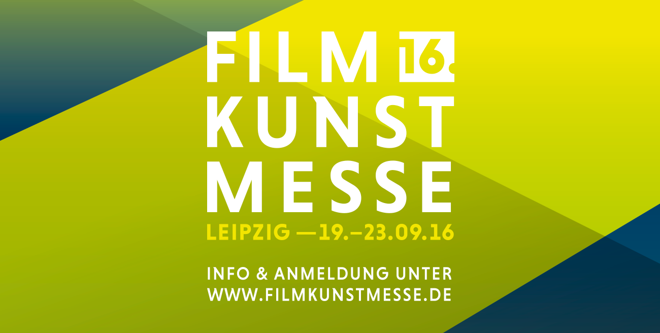 Akkreditierung und Filmanmeldung für die 16. Filmkunstmesse